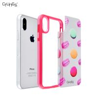 Buy cheap PC + TPU Bumper Iphone X Case , Anti-Scratch Apple Cell Phone Cover from wholesalers