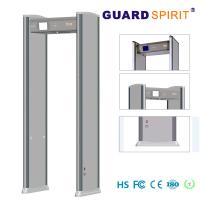 Wholesale Multi Zone Led Light Bars Archway Metal Detector , Super Scanner Walk Through Safety Gate from china suppliers