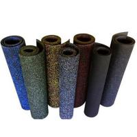 Wholesale Solid anti-slip indoor recycled rubber gym floor roll for sale 1-12mm thickness from china suppliers