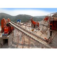 Wholesale Flexibly Mobile Crushing And Screening Plant With Vibrating Screen 80 - 100TPH from china suppliers