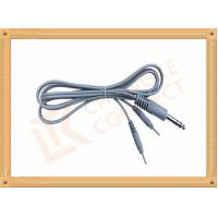 Wholesale 6.35 TO 2.0 Tens Unit Cables  2 Pin Y Type Medial Tens EMS Cable Lead Wire from china suppliers