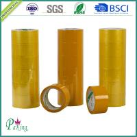 Quality Factory Sell Directly 48mm Yellowish BOPP Adhesive Packing Tape for Carton Sealing for sale