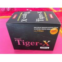 Wholesale Super Tiger-X Herbal Male Libido Pills , Healthy Male Stamina Enhancement Pills from china suppliers