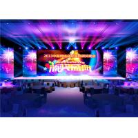 Wholesale IP43 High Definition Full Color Led Signs , Large Led Stage Screen 250x250mm Module from china suppliers