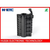 """Wholesale Black Outdoor Fiber Splice Enclosure For 7/8"""" Feeder Cable To Grounding Cable from china suppliers"""