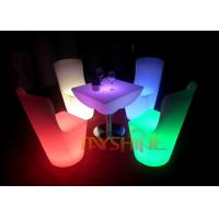 Wholesale IP65 Night Club LED Bar Furniture Rechargeable / LED Bar Table with 16 Changing Color from china suppliers
