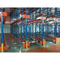 Wholesale Stainless Steel Shuttle Pallet Racking System , Industrial Warehouse Storage Shelves from china suppliers
