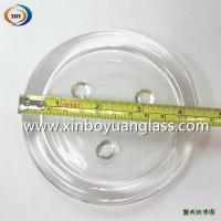 Wholesale Round glass candle plate holder from china suppliers