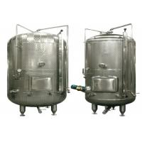 Wholesale Stainless Steel Wine Fermentation Tanks , Stainless Steel Pressure Tank For Dairy from china suppliers