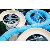 Wholesale Funny FPR Water Slide Games Double Open And Close Cool Water Slides for Water Park from china suppliers