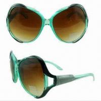 Wholesale Ladies Fashionable Plastic Designer Sunglasses, Modern Style from china suppliers