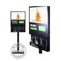 Wholesale 21.5 inch LCD Android Wifi Digital Signage with mobile phone charging station and remote control software from china suppliers