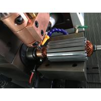 Quality DC power armature commutator spot welding fusing soldering hot staking machine with cooling tank for sale