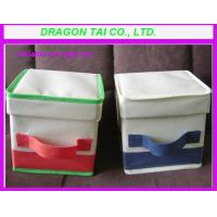 Wholesale Foldable clothes organizer, clothes storage box, foldable clothes storage bag from china suppliers