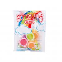 Wholesale Soft Sweets Sugar Packing Bags With Clear Window Custom Full Color Printing from china suppliers