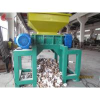 Wholesale Tire Twin Shaft automatic Plastic Shredding Machine for waste plastics from china suppliers