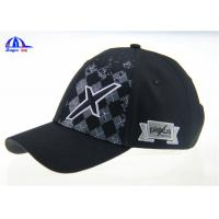Wholesale Printing and Embroidery 100%  Cotton Cool Baseball Caps for Boys / Man , Custom Size and Color from china suppliers