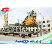 Wholesale YHZS50 Mini Mobile Ready Mix Concrete Mixing Plant Mobile Concrete Batch Plant from china suppliers
