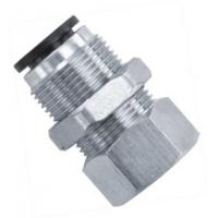 Buy cheap Female Straight Shape Pneumatic Tube Fittings With Smart And Simple Design from wholesalers
