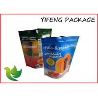 Wholesale Dry Fruit / Nuts Food Packaging Bags Plastic Standing BPA Free Anti - Puncture from china suppliers