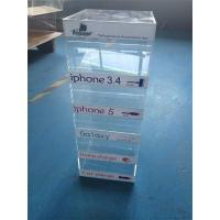 Wholesale acrylic counter display for charger/ mobile phone charger display stand from china suppliers