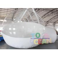 Wholesale DIA 4M Advertising Inflatables Transparent Inflatable Bubble House With Tunnel from china suppliers