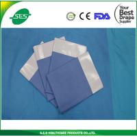 Buy cheap S.E.S Disposable Nonwoven Adhesive Side Drape With EO Sterile from wholesalers