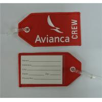 Wholesale Avianca Airlines Crew Embroidery Luggage Tag from china suppliers