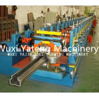 Wholesale High Durable Q235 Storage Rack Roll Forming Machine with H - Beam Base Support from china suppliers