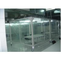 Wholesale Power Coated Steel Softwall Cleanroom Pharmaceutical , Vertical Laminar Air Flow Chamber from china suppliers