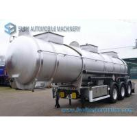 Wholesale Lifting Axle 6 Tires Oil Tank Trailer Aluminum chemical trailers 22000 Liters from china suppliers