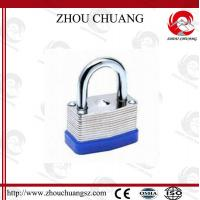 Quality High Sercurity, CE Certificated Security  Plating Long steel Shackle Laminated Padlock for sale