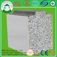 Quality HZSY lightweight fireproof eps cement sandwich panel factory in hubei for sale