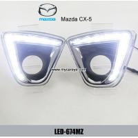 Wholesale MAZDA CX5 CX-5 DRL LED Daytime Running Light Car driving lights daylight from china suppliers
