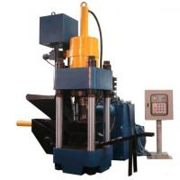 Wholesale High Efficiency Metal Briquetting Press Machinery / Hydraulic Sawdust Briquette Press from china suppliers