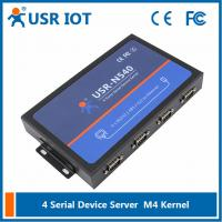 Wholesale [USR-N540] 4 Serial Port RS232/RS485/RS422 to Ethernet Converter from china suppliers