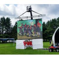 Wholesale HD p3.9 Rental Wedding Led Display Screen / Advertising Video Wall from china suppliers