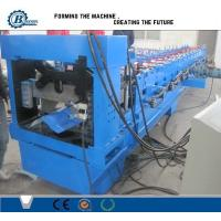 Wholesale Color Coated Steel Roofing Step Ridge Cap Sheet Making Machine Roller Forming Machine from china suppliers
