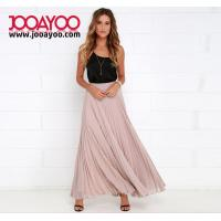 Wholesale Latest Long Skirt Design Long Skirts For Women Pleated Chiffon Maxi Skirt from china suppliers