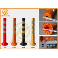 Wholesale Road Safety Reflective Strip TPU 75cm Flexible Delineator Post For Hotel Parking Lot from china suppliers