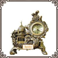 Wholesale Hot Sell New Design muslim style desktop clock beautiful clock for desk decoration 571 from china suppliers