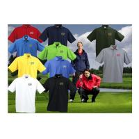 Wholesale Outdoor Short Sleeve Solid Color Sports Unisex Golf Polo Shirts Silk Screen Printing from china suppliers