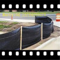 Wholesale black pp woven silt fence,used for erosion control from china suppliers