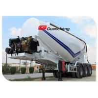 Wholesale Powder Material Series Cement Bulker Truck , Bulk Tanker Trailers With Bulk Powder Tankers from china suppliers