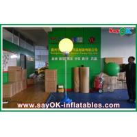 Wholesale 2m Dia Nylon Cloth Inflatable Led Lighting Ball Decoration With White Stand from china suppliers
