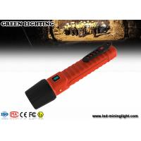 Wholesale 10W CREE explosion proof flashlight impact resistance 3m lighting time 22 hours from china suppliers