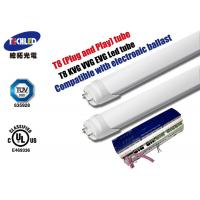 Wholesale High Lumen 4 Foot T8 Led Tube Light 2280lm For Home / Led Tube Light Bulbs from china suppliers