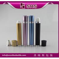 Quality DR003-10ml luxury refillable vibrating plastic roll on bottle manufacturer for sale