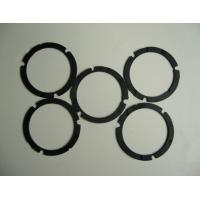 Wholesale Die Cutting Solution Silicone Rubber Gasket , Black Custom Silicone Gaskets Strip Washer from china suppliers