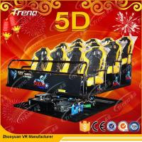 Wholesale Energy Saving Accurate Platform 5D Cinema Theatre With 6 / 8 / 9 / 12 Players from china suppliers